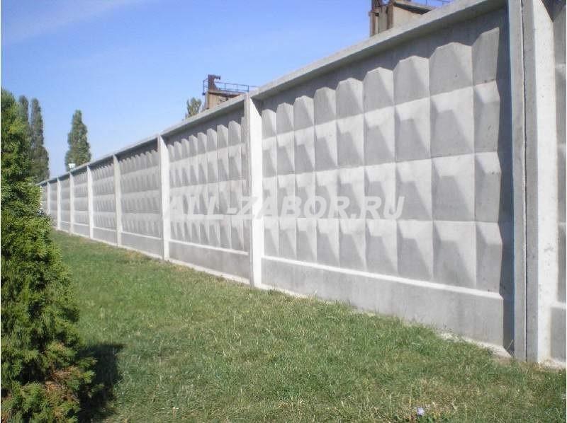 Купить забор из бетона тюмень бетонные смеси волгодонске